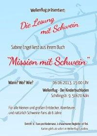 Mission mit Schwein Plakat